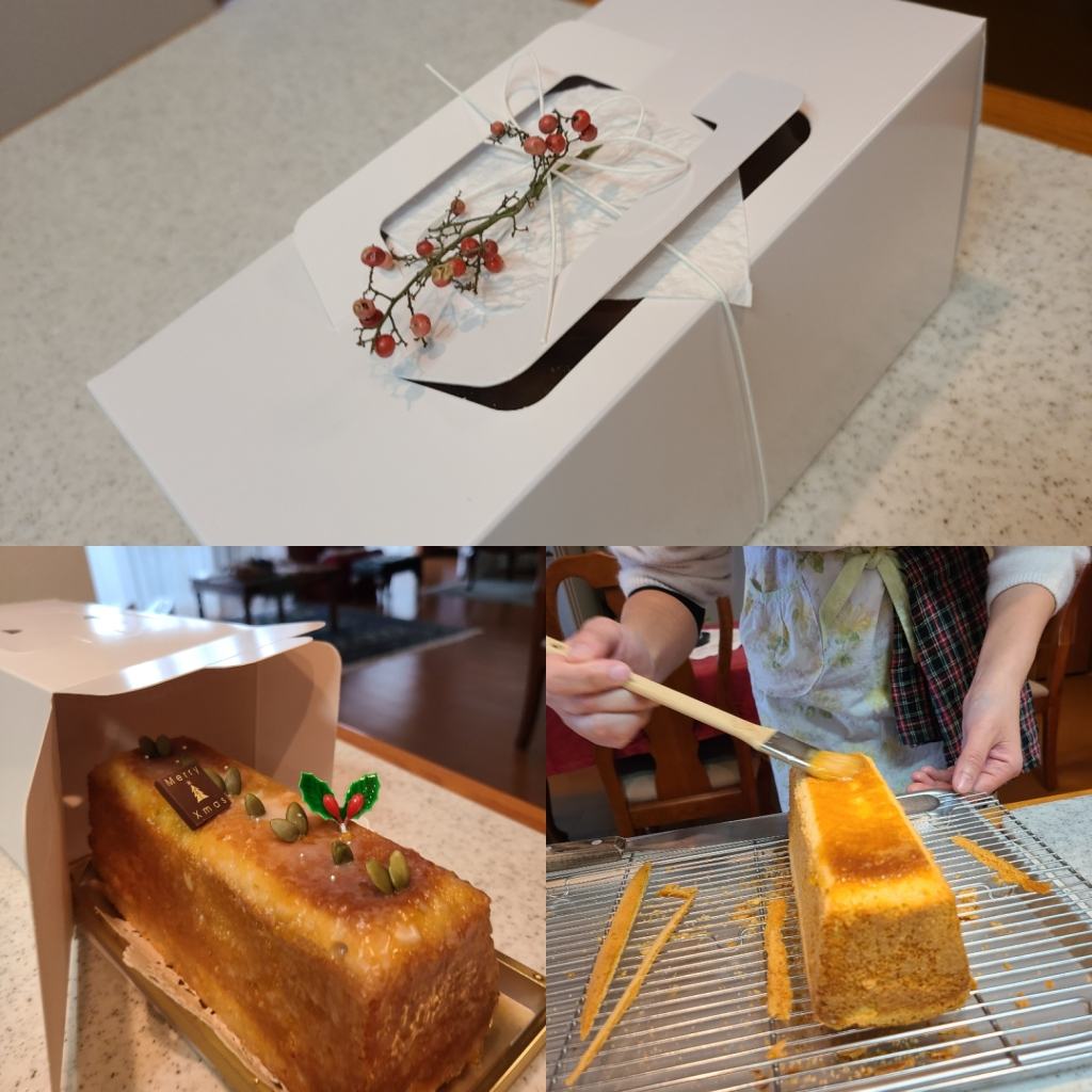 ケーキの仕上げとデコレーション&箱詰め